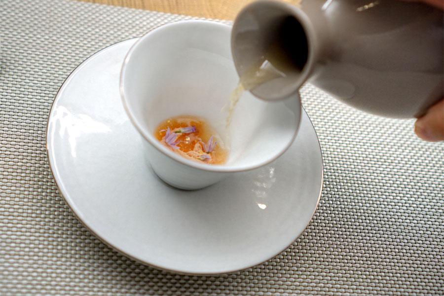 Prawn Salt (Pouring Broth)