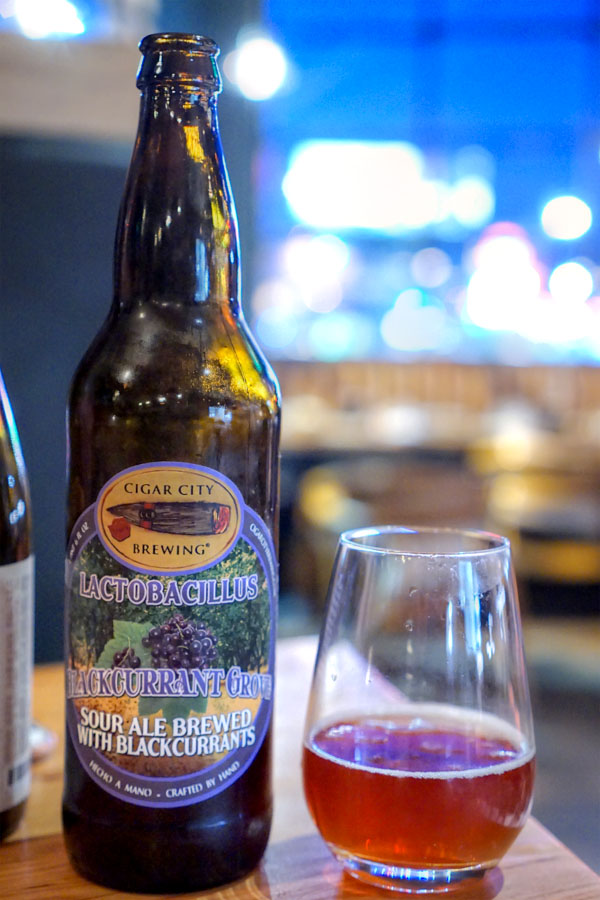 2016 Cigar City Lactobacillus Blackcurrant Grove