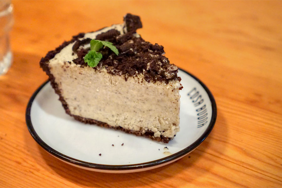 Cookies and Cream Semifreddo Pie