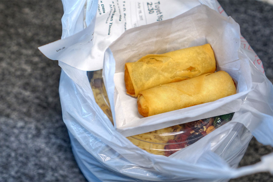 Crispy Vegetable Lumpia (2 pcs)
