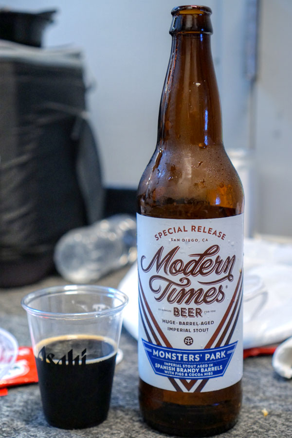 2017 Modern Times Monsters' Park Aged in Spanish Brandy Barrels with Fig & Cocoa