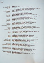 Ink Wine List: Red