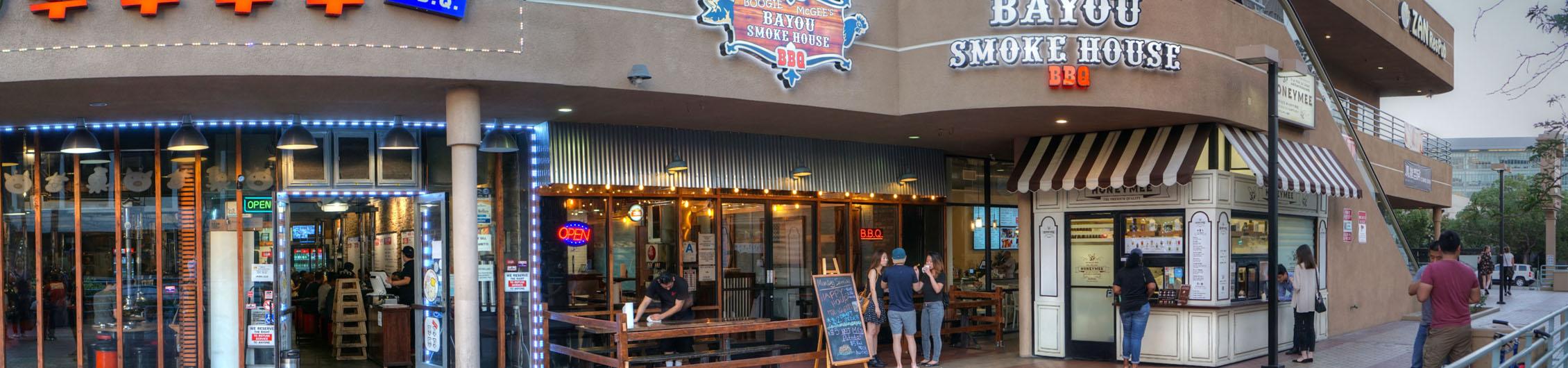 Boogie McGee's Bayou Smokehouse BBQ Exterior