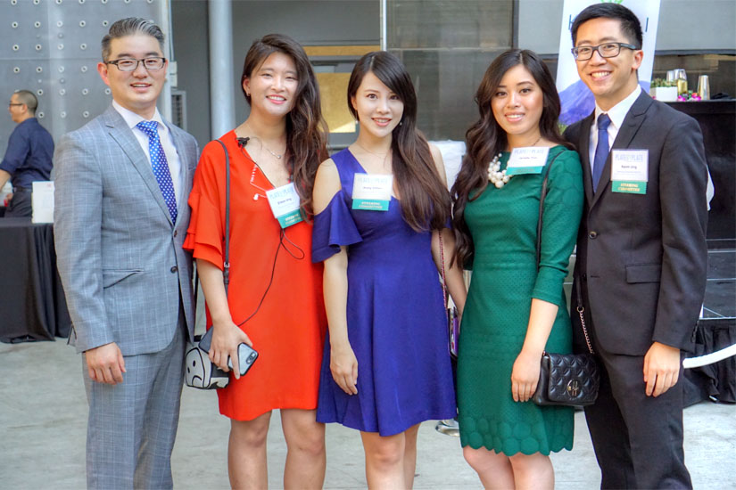 Peter Yun, Eileen Ung, Anny Chien, Jenelle Yee, Kevin Ung