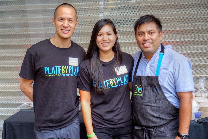 Andrew Chiang, Chloe Lin, Ricardo Zarate
