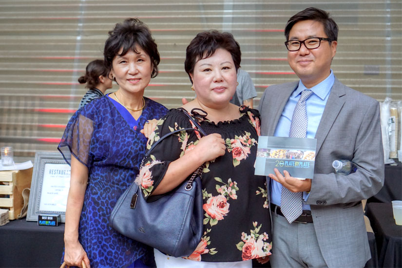 Michelle Lim, Sunny Park, James Park