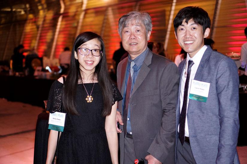 Kelly Kwan, Calvin Kwan