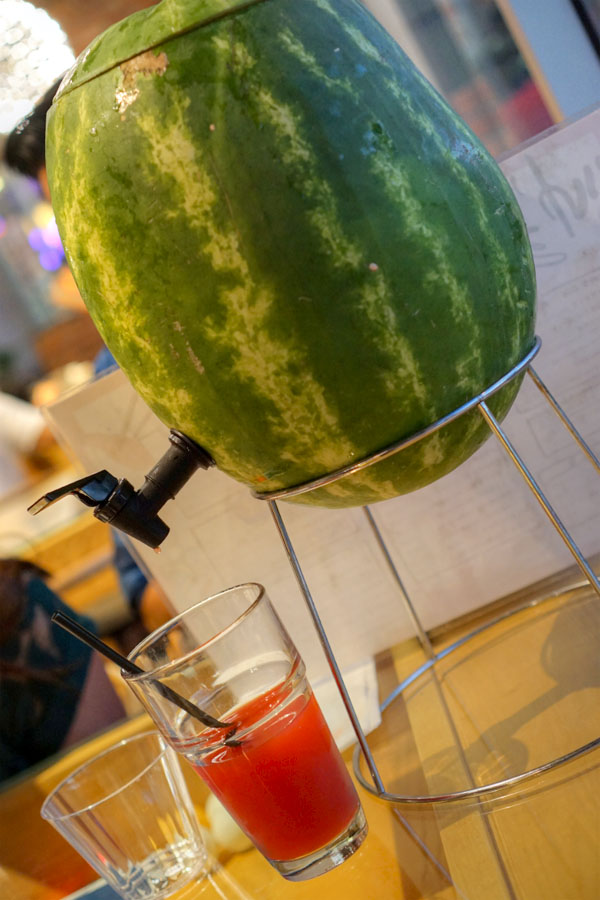 Watermelon Juice Party