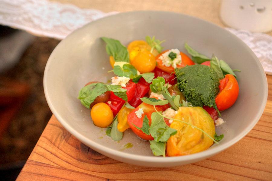 Harvest Tomato Salad