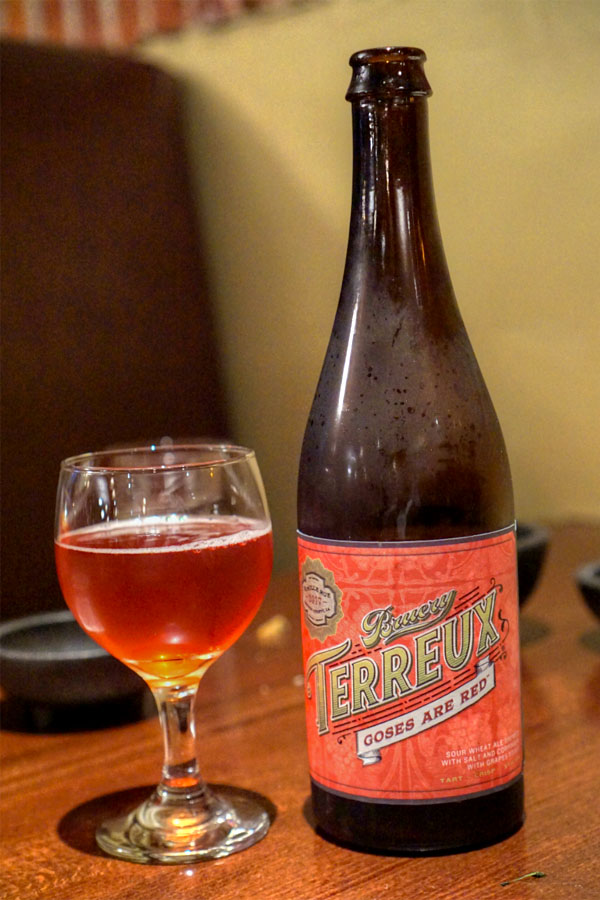 2017 Bruery Terreux Goses Are Red