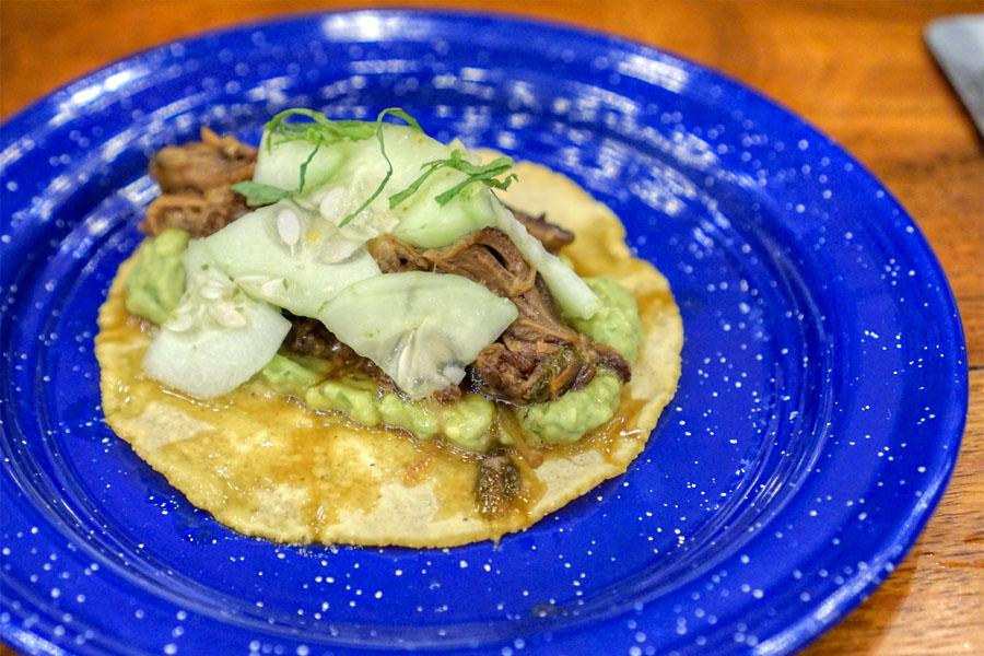 short rib taco