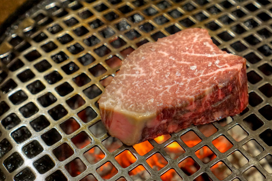 Kobe Beef Chateaubriand (On the Grill)