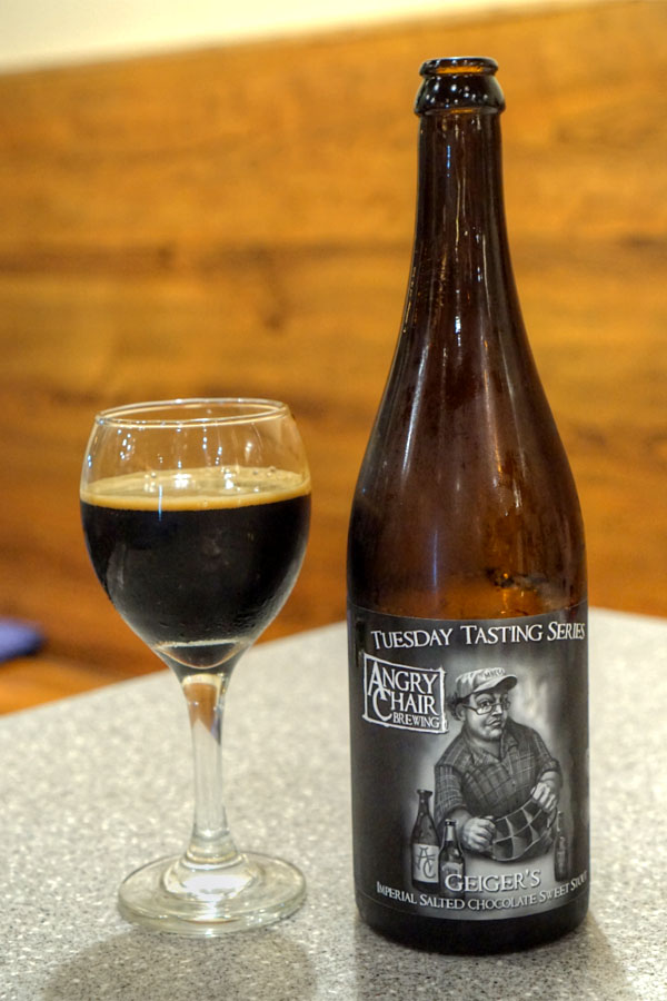 2016 Angry Chair Geiger's Imperial Salted Chocolate Sweet Stout