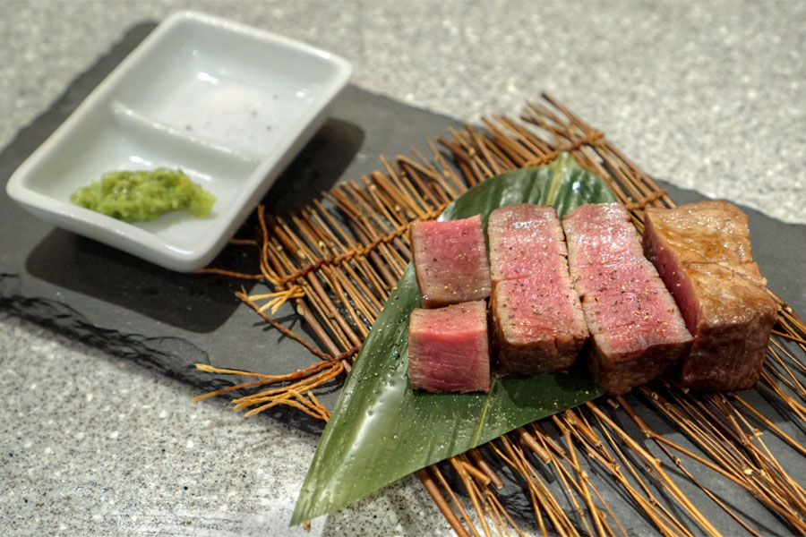 Kobe Beef Chateaubriand (Plated)