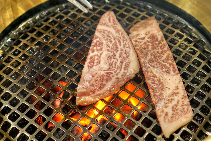 Japanese Pure Wagyu Ribeye (On the Grill)