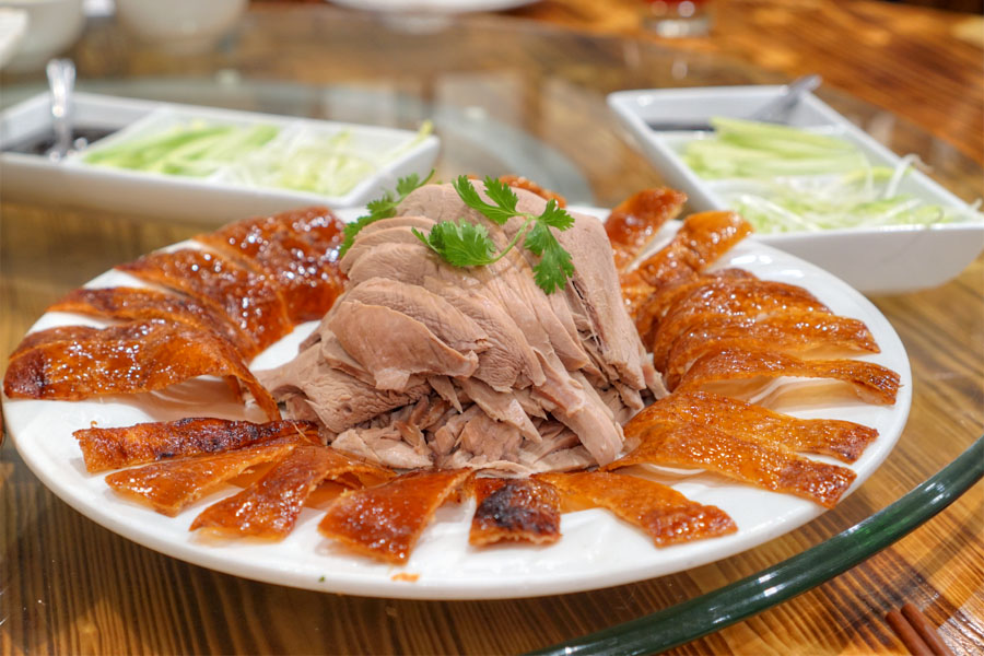 Two Styles Roasted Peking Duck