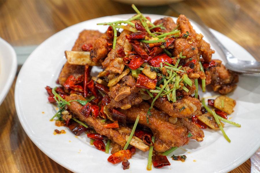 Hot & Spicy Lamb Chop