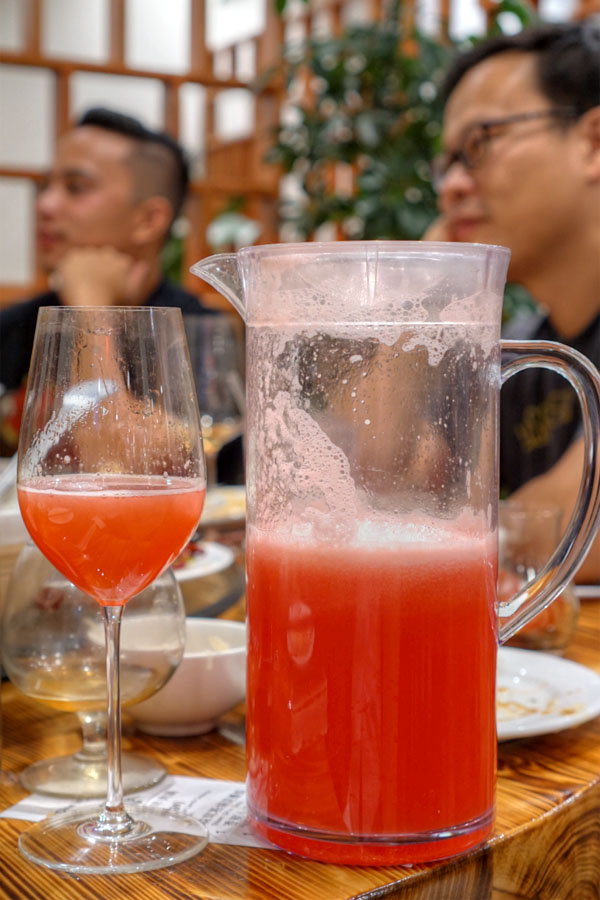 Fresh Watermelon Juice Pitcher