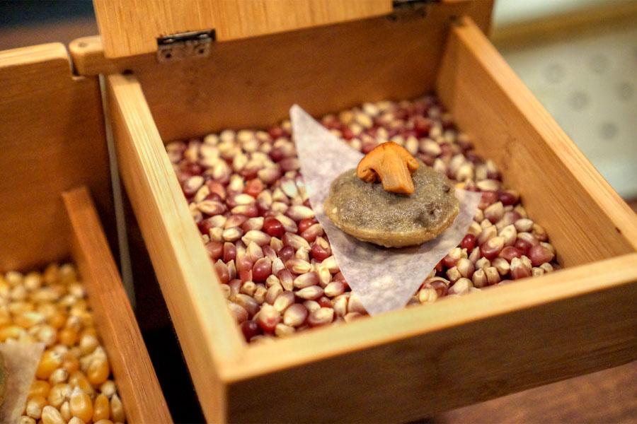Chips & Dip - Smoke Mushroom & Huitlacoche