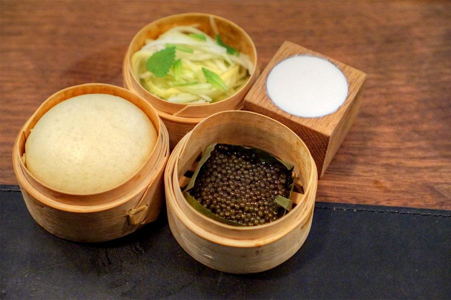Grilled Ossetra Caviar