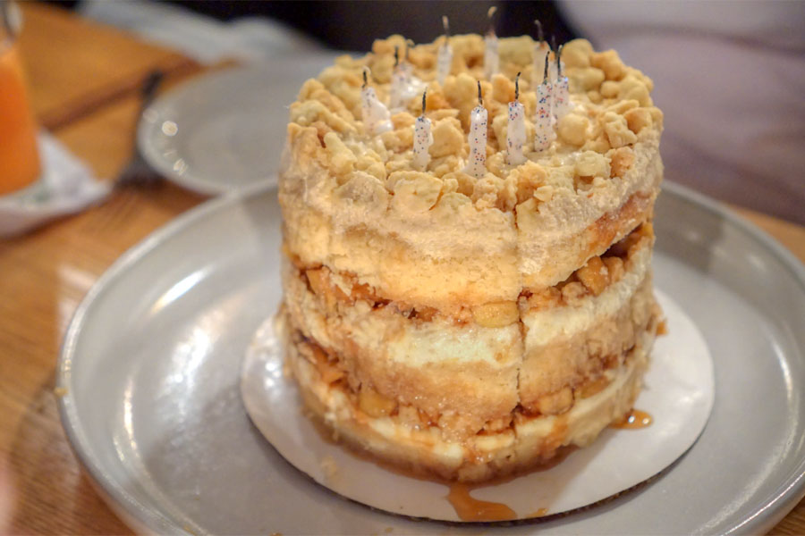 Momofuku Milk Bar Apple Pie Cake