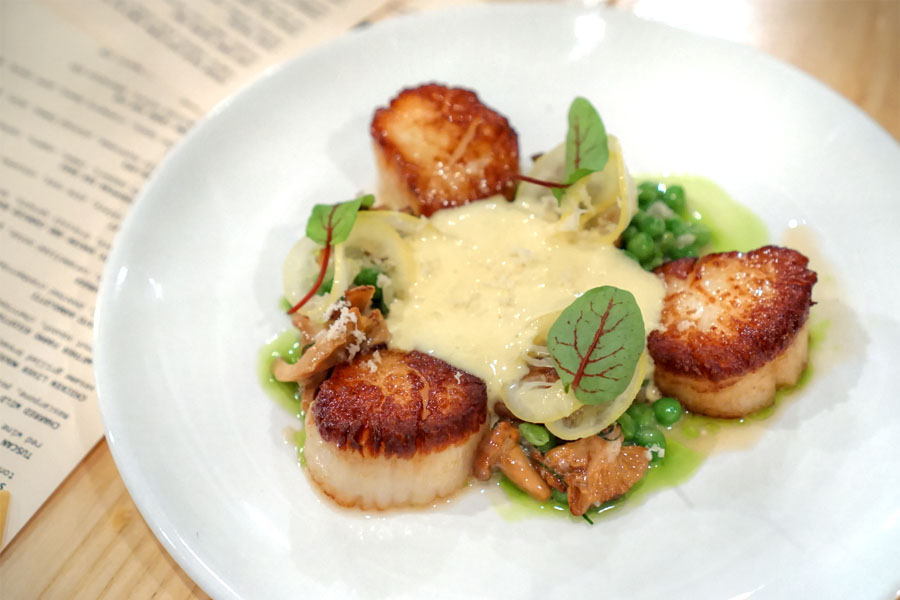 Seared Atlantic Sea Scallops