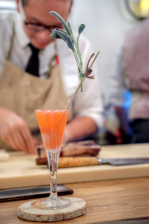 Raspberry-Lychee Cocktail