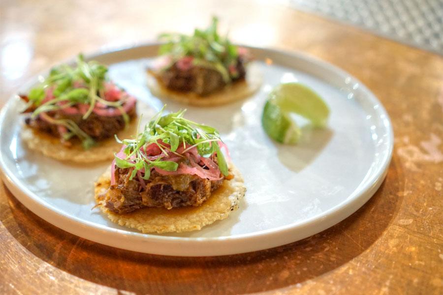 Lamb Neck Tacos