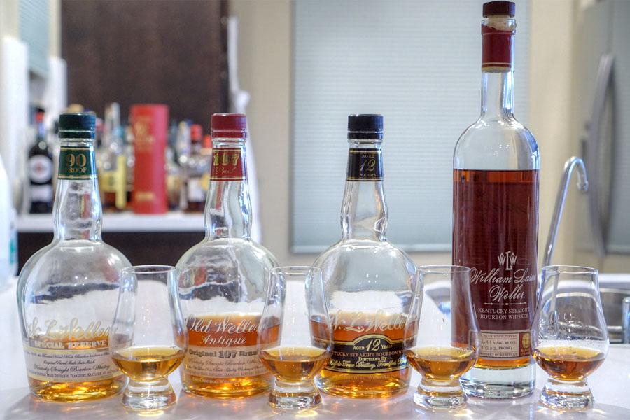 W. L. Weller Bourbon Tasting