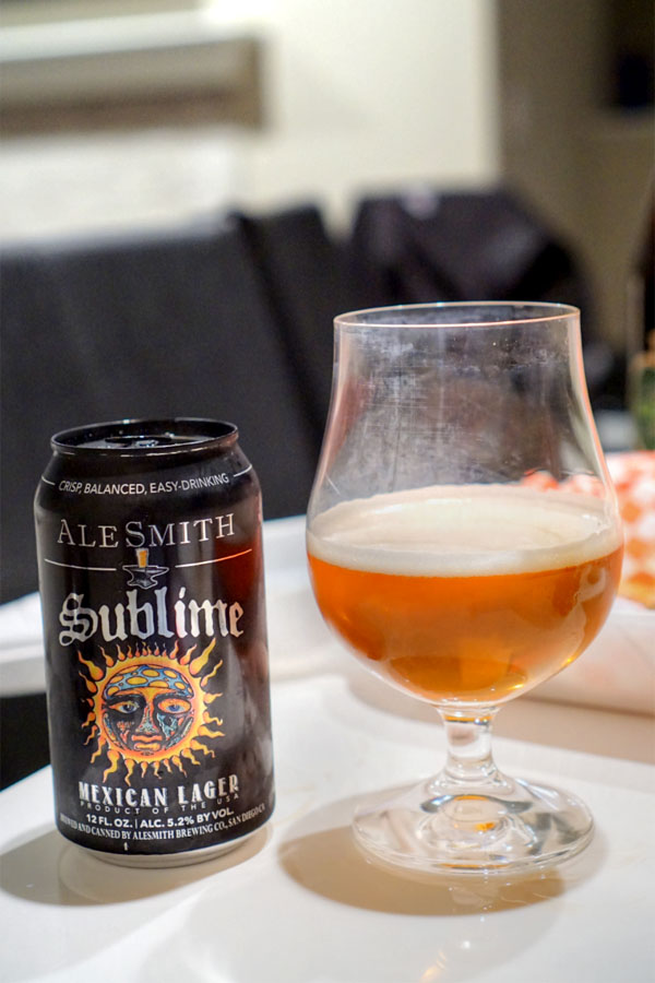 2017 AleSmith Sublime Mexican Lager