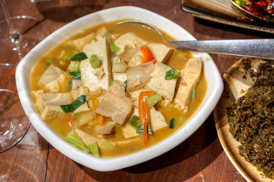 Homestyle Braised Firm Tofu
