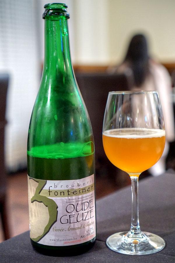 2015 Drie Fonteinen Oude Geuze Cuvée Armand & Gaston