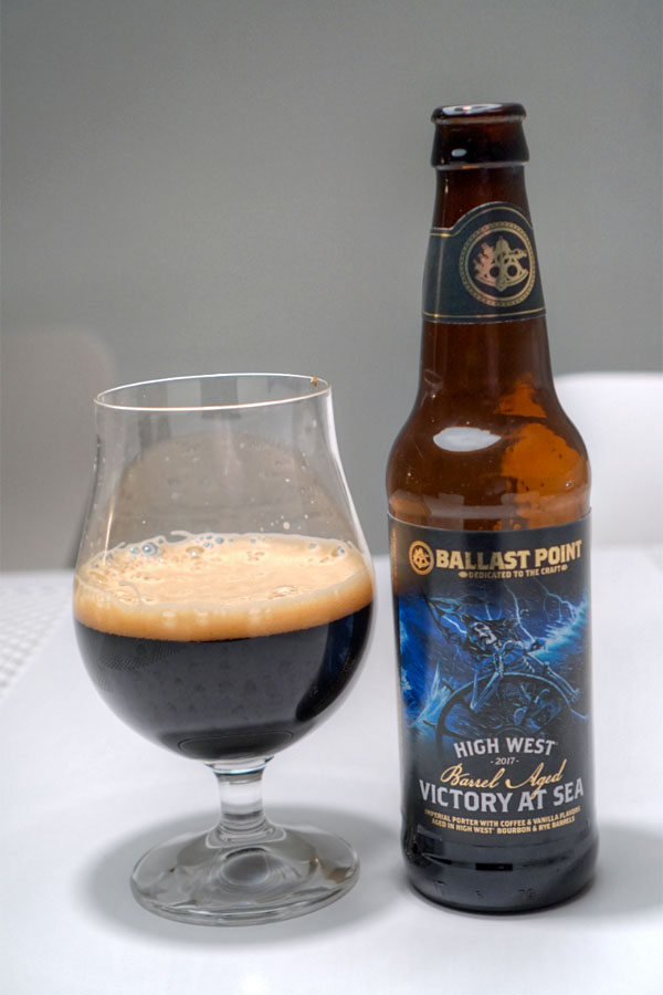 2017 Ballast Point High West Barrel Aged Victory at Sea
