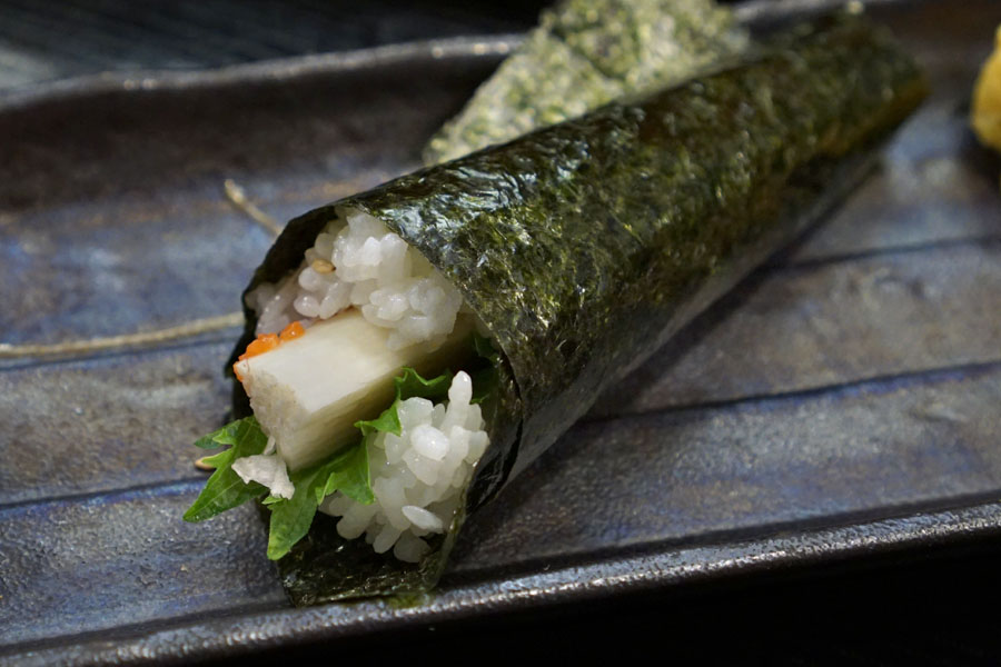 Mountain Yam Hand Roll
