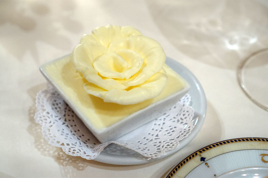 Rose-Shaped Butter