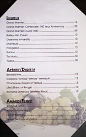 The Hobbit Liqueur/Apéritif-Digestif/Amaro-Fernet List