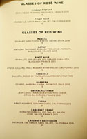 The NoMad Mezzanine Wines by the Glass List: Rosé, Red