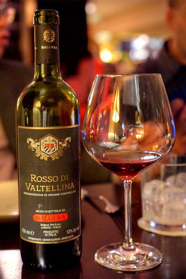 Balgera, Rosso Di Valtellina 1999