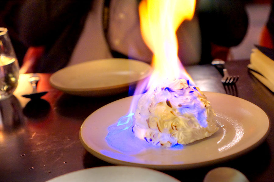 Baked Alaska (Burning)