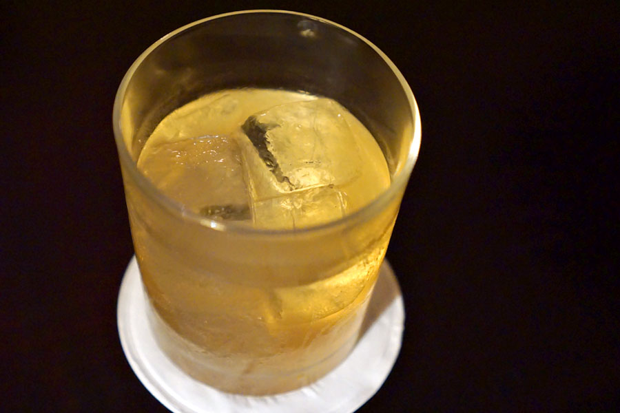 Manhattan Milk Punch
