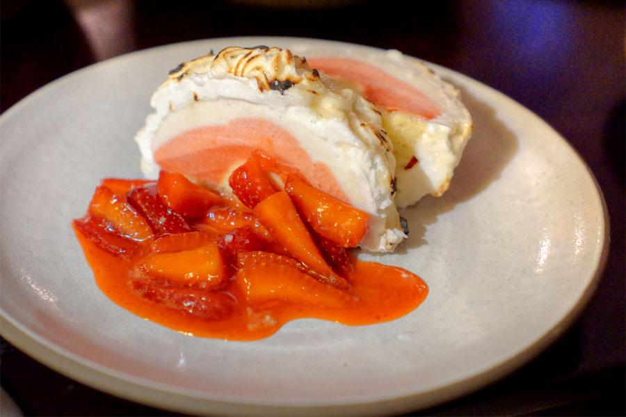 Baked Alaska (Plated)
