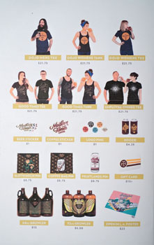 Modern Times The Dankness Dojo Merchandise Menu