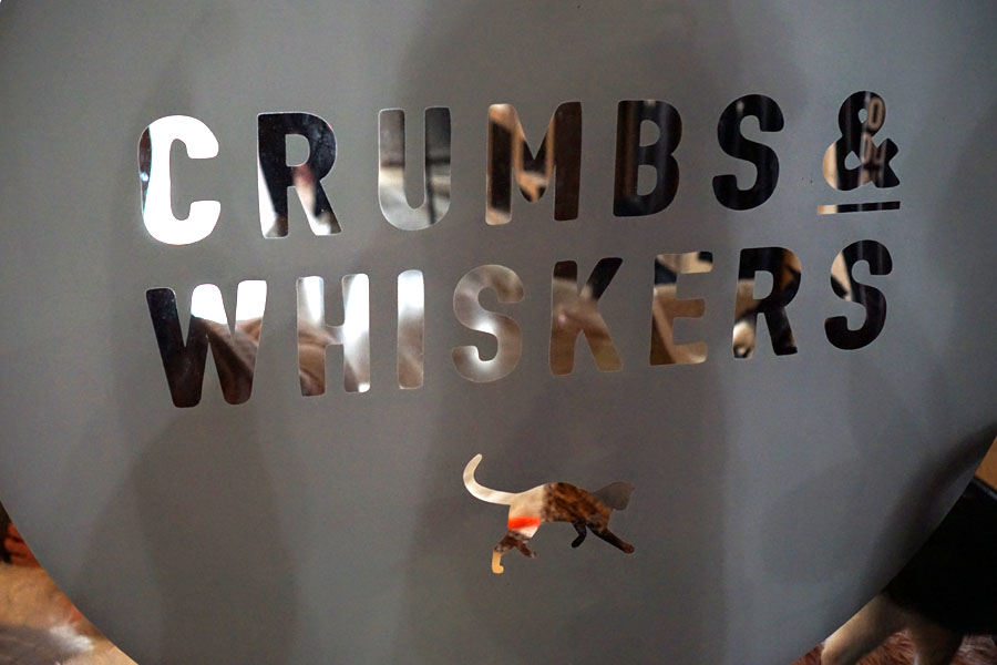 Crumbs & Whiskers Sign