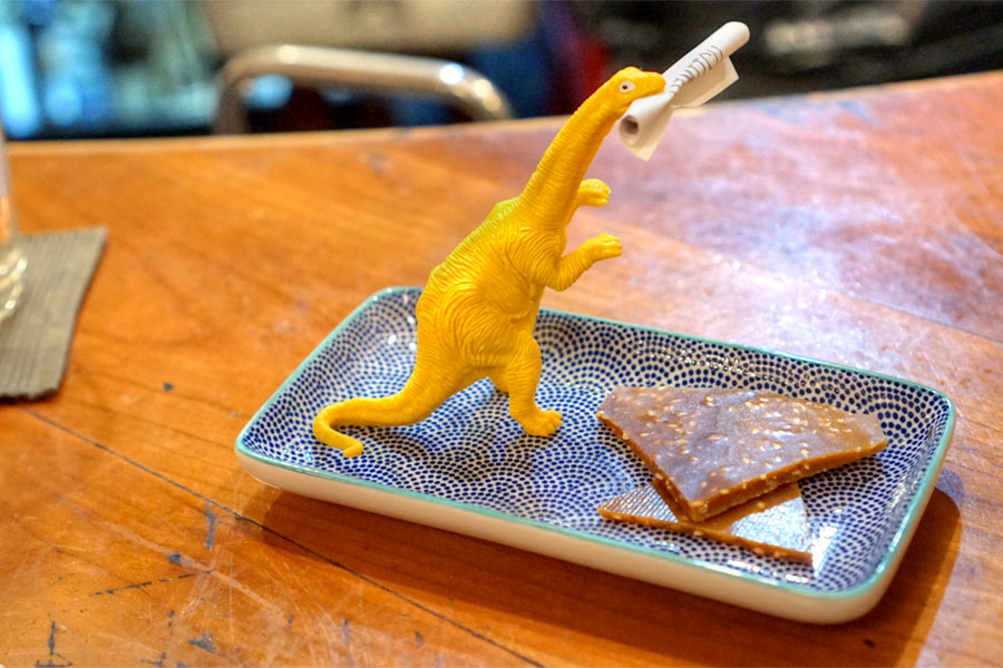 Dinosaur & Sesame Brittle
