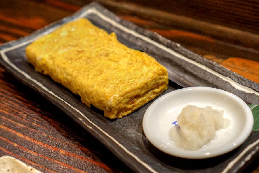 Jidori Omelet