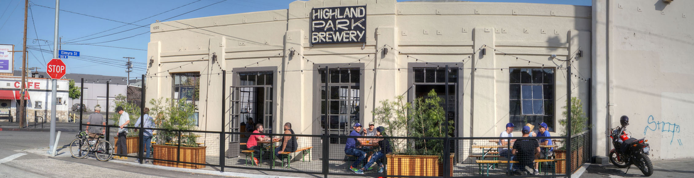 Highland Park Brewery - Chinatown Exterior