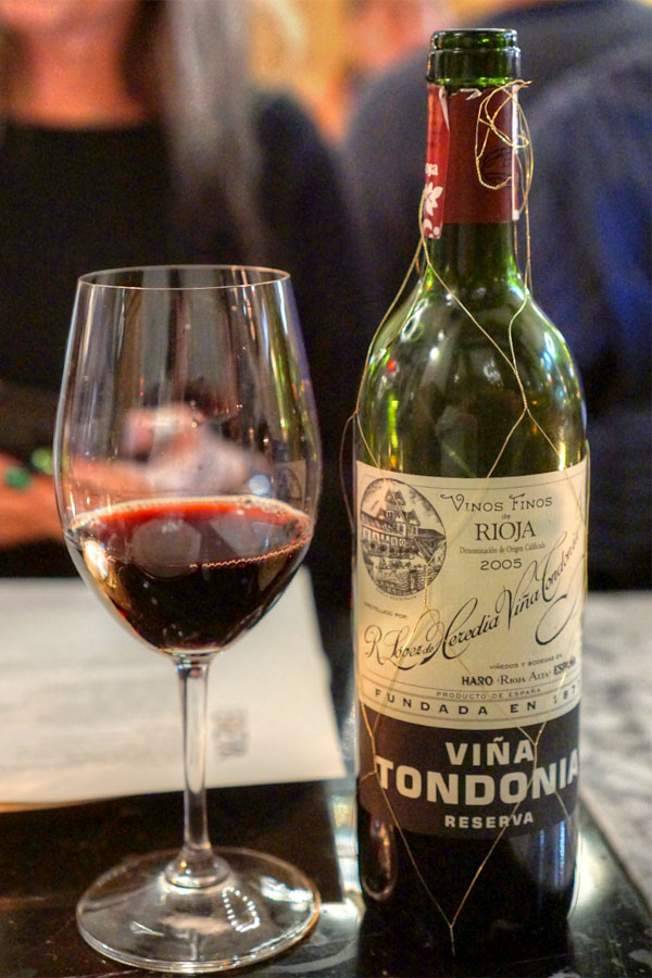 2005 R. López de Heredia Rioja Reserva Viña Tondonia