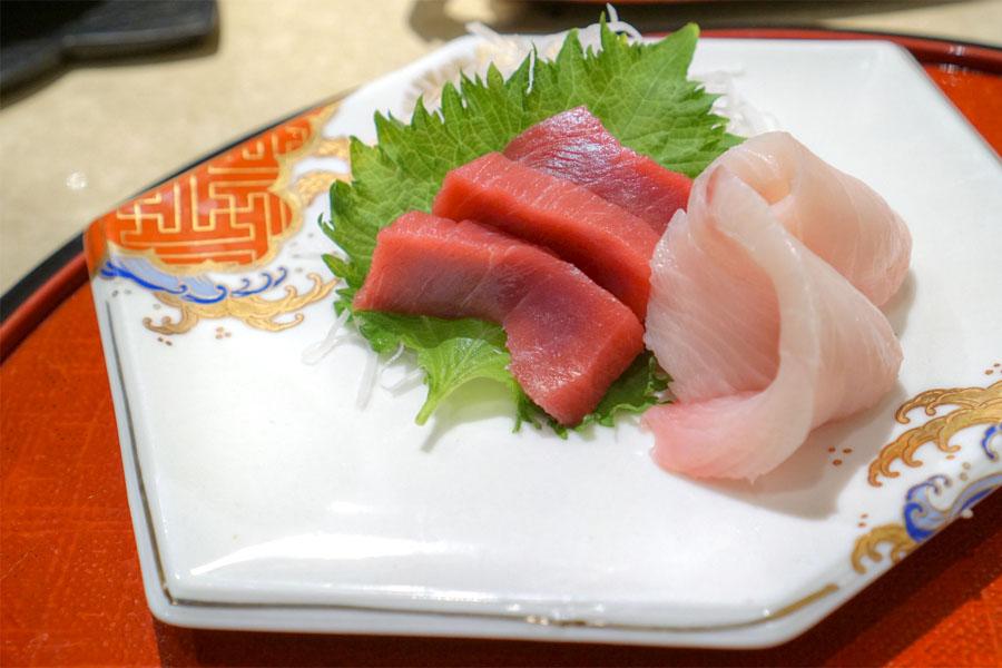 Maguro to Hamachi Sashimi