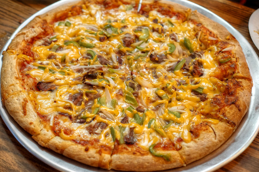 Cheesesteak Pizza (Large)
