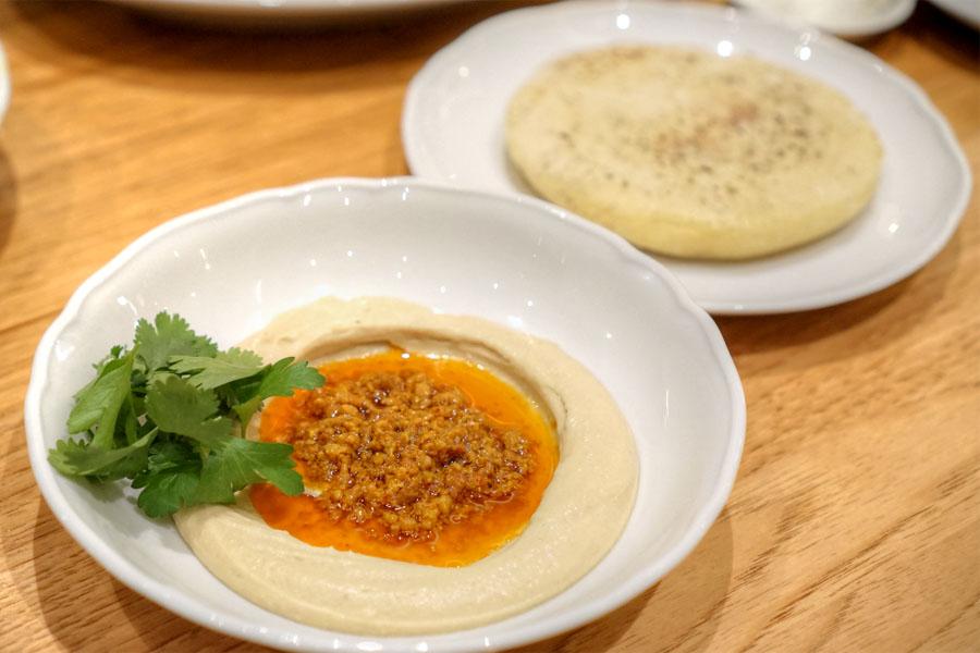 Duck 'Nduja Hummus